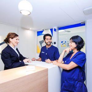 Clçinica Dental Equipo de la Torre Recepción Cita