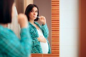 Inflamación encías embarazo